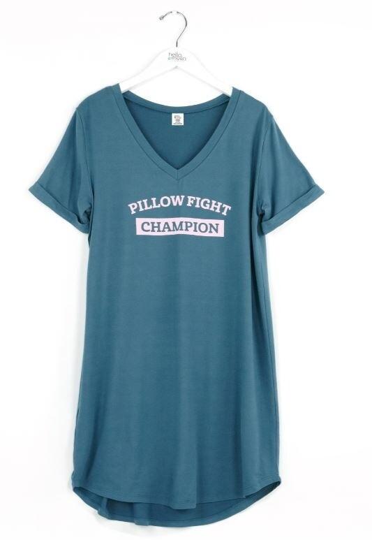 Hello Mello Sleep Shirt | Pillow Fight Champion