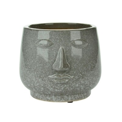 Stone Look Face Planter - Short