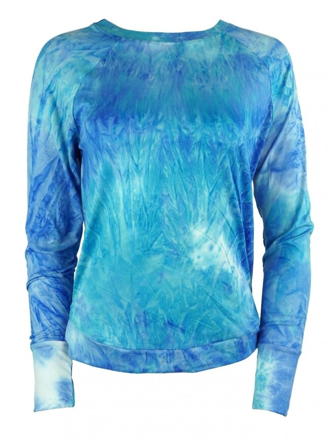 Hello Mello Dyes The Limit Top - Aqua