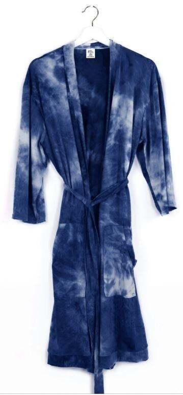 Hello Mello Dyes The Limit Robe - Navy