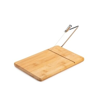 Core Kitchen   Bamboo Cheese Board with Slicer