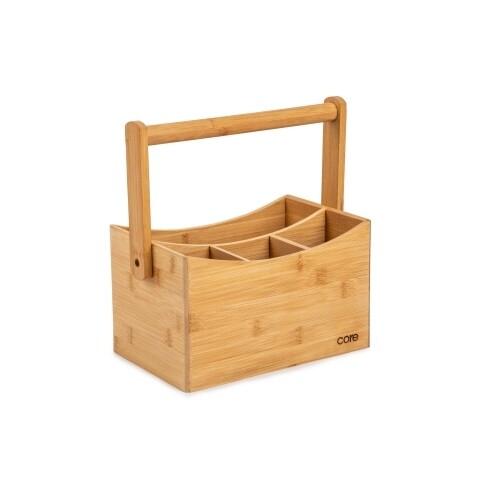 Core Kitchen | Bamboo Cutlery Caddy
