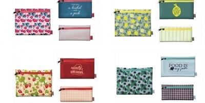 Krumb's Kitchen Reusable Zip Storage Bags (Set of 3)