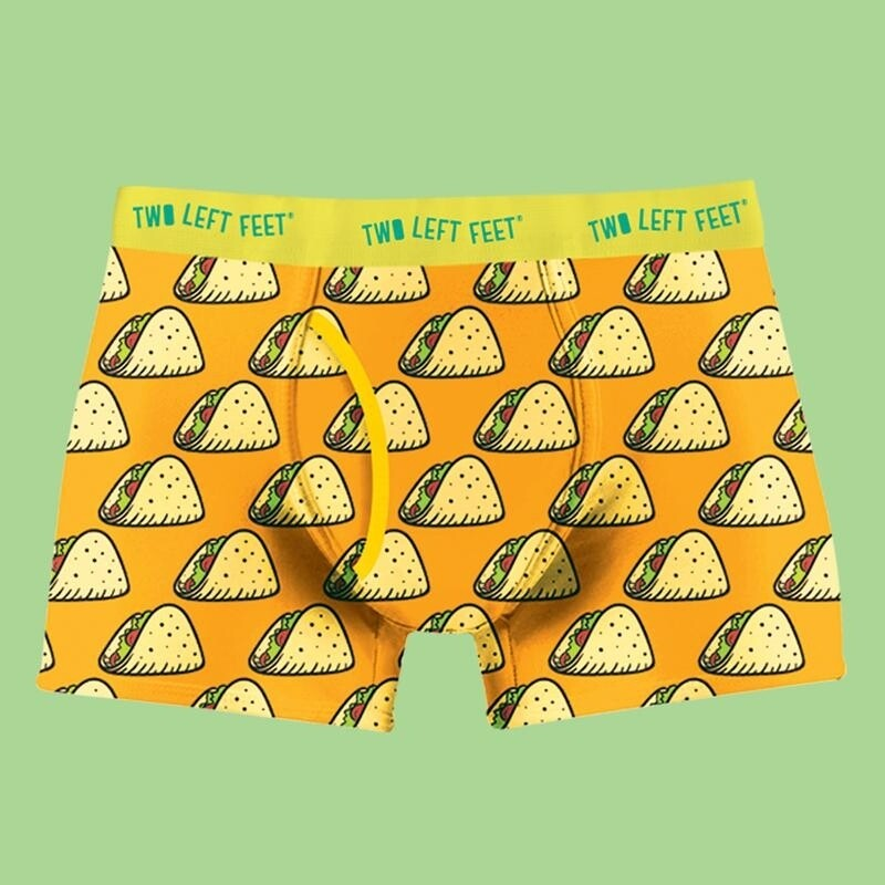 Two Left Feet - Men's Everyday Trunks   Taco Tuesday