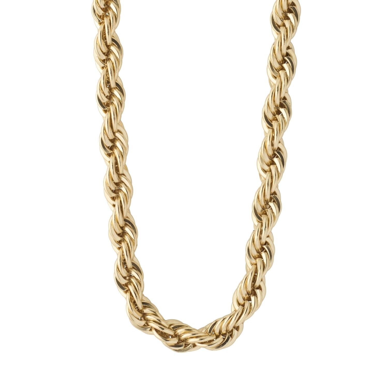 Pilgrim Gold Horizon Rope Necklace
