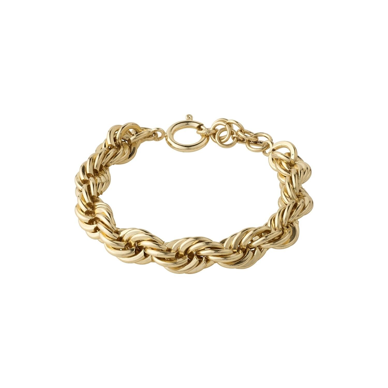 Pilgrim Gold Horizon Rope Bracelet