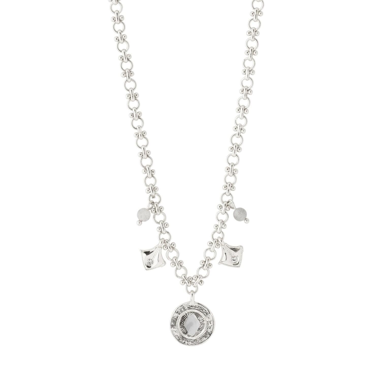 Pilgrim Silver Nomad Necklace