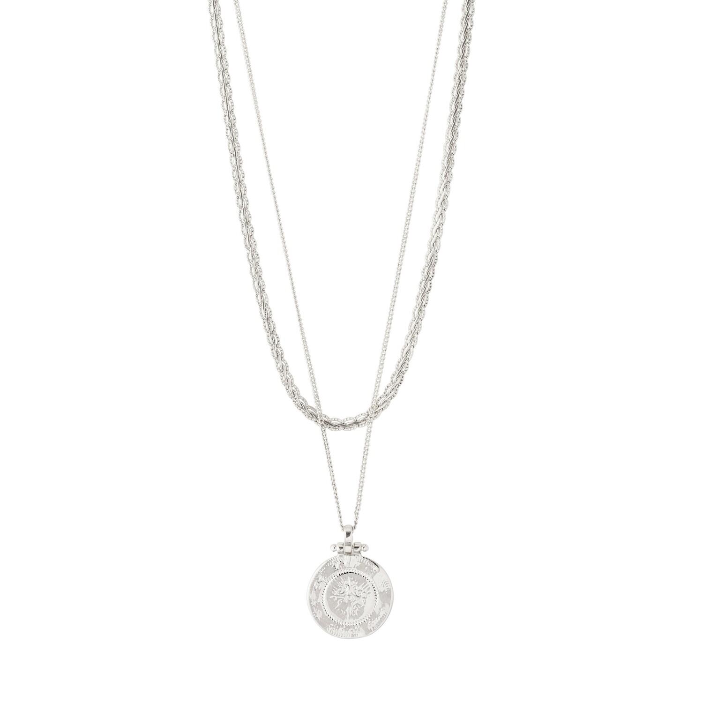 Pilgrim Silver Nomad 2-in-1 Necklace