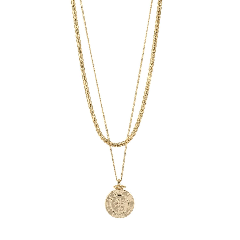 Pilgrim Gold 2-in-1 Nomad Necklace