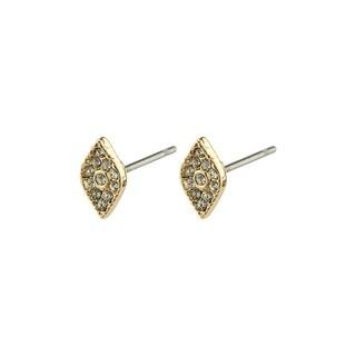 Pilgrim Gold Sincerity Crystal Earrings