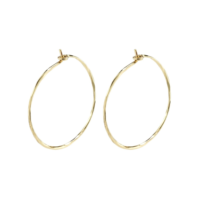 Pilgrim Gold Sincerity Hoop Earrings
