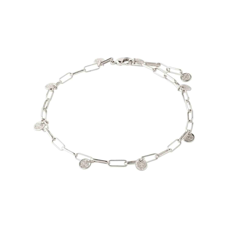 Pilgrim Silver River Ankle Chain