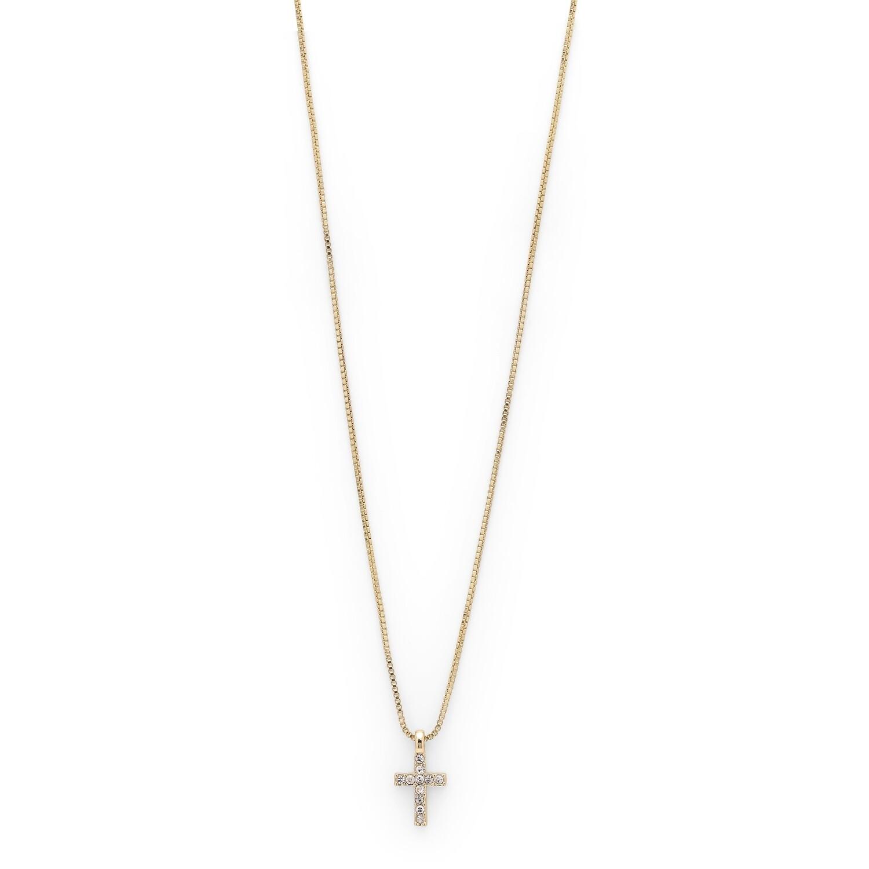 Pilgrim Gold Clara Cross Necklace