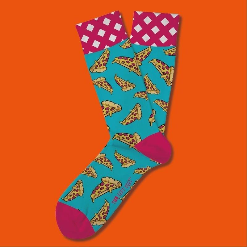 Two Left Feet - Everyday Socks (Big Feet)   Piece Of The Pie