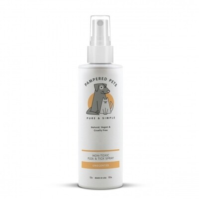 Pampered Pets | Non-toxic Unscented Flea and Tick Spray
