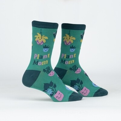 Sock It To Me - Women's Crew Socks | Plant Mom