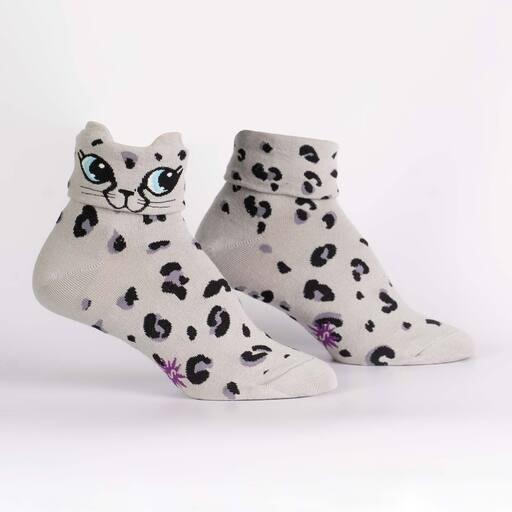 Sock It To Me - Women's Turn Cuff Crew Socks | Check Meowt