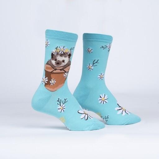 Sock It To Me - Women's Crew Socks | My Dear Hedgehog
