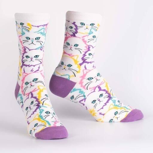 Sock It To Me - Women's Crew Socks | Fur Real