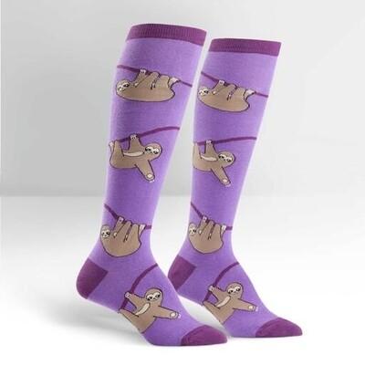 Sock It To Me - Women's Knee-high Socks | Sloth