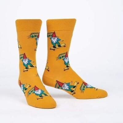 Sock It To Me - Men's Crew Socks | Gnarly Gnome