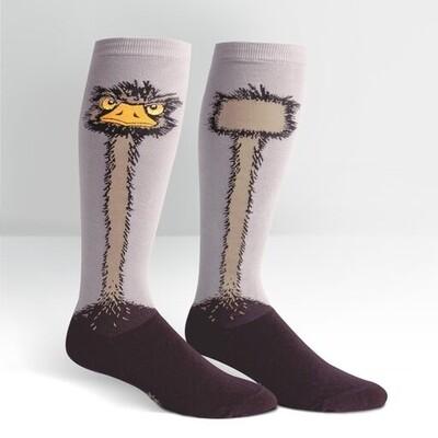 Sock It To Me - Women's STRETCH-IT Wide Calf Knee-high Socks | Ostrich