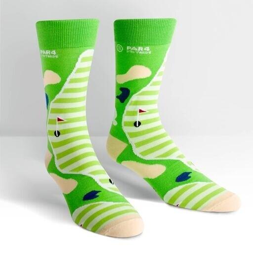 Sock It To Me - Men's Crew Socks | Par 4