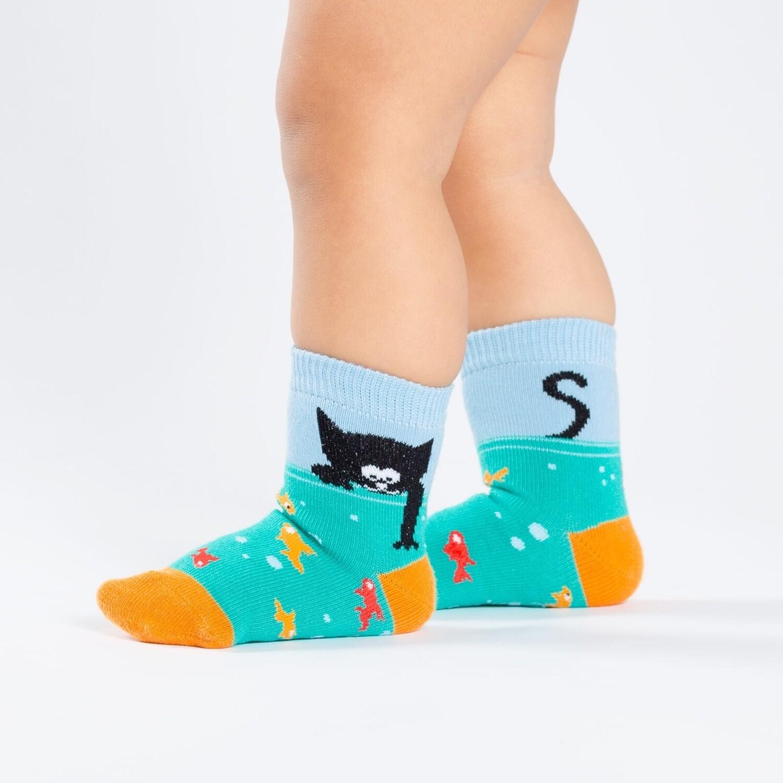 Sock It To Me - Toddler Crew Socks | Gone Fishin