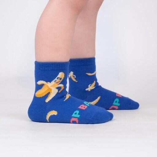 Sock It To Me - Toddler Crew Socks   Top Banana