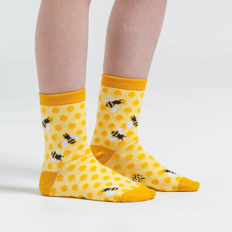 Sock It To Me - Youth Crew Socks | Bee's Knees