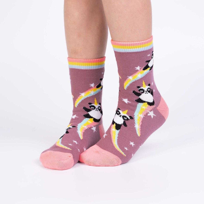 Sock It To Me - Junior Crew Socks | Pandacorn