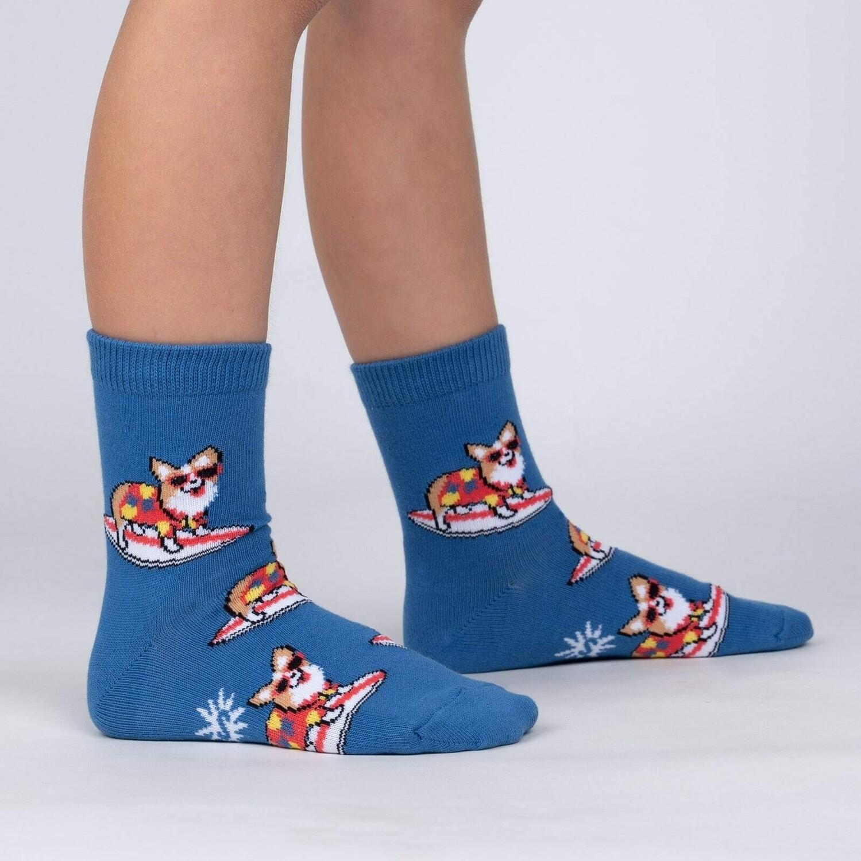 Sock It To Me - Junior Crew Socks | Corgi-bunga!