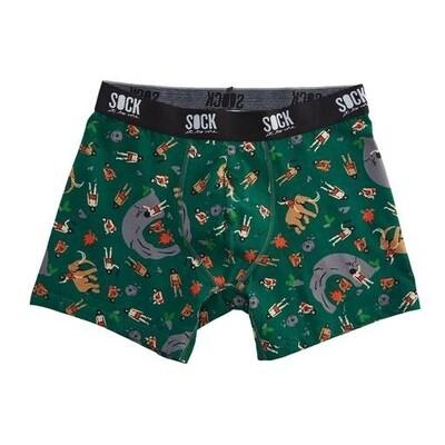 Sock It To Me - Boxer Brief Underwear | Man Cave