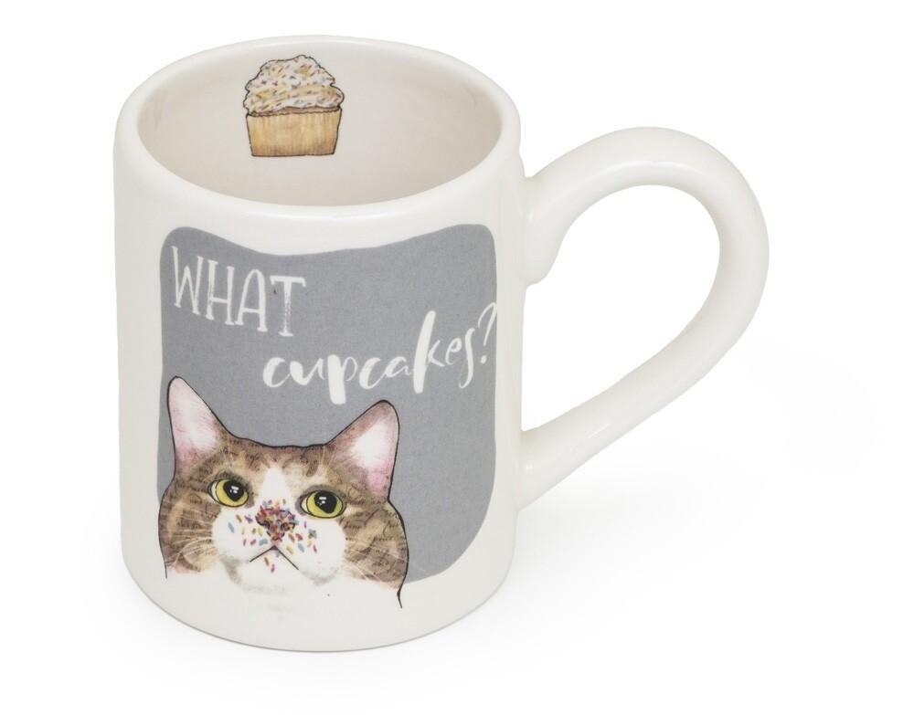 Boston International Mug   Cupcake Cat