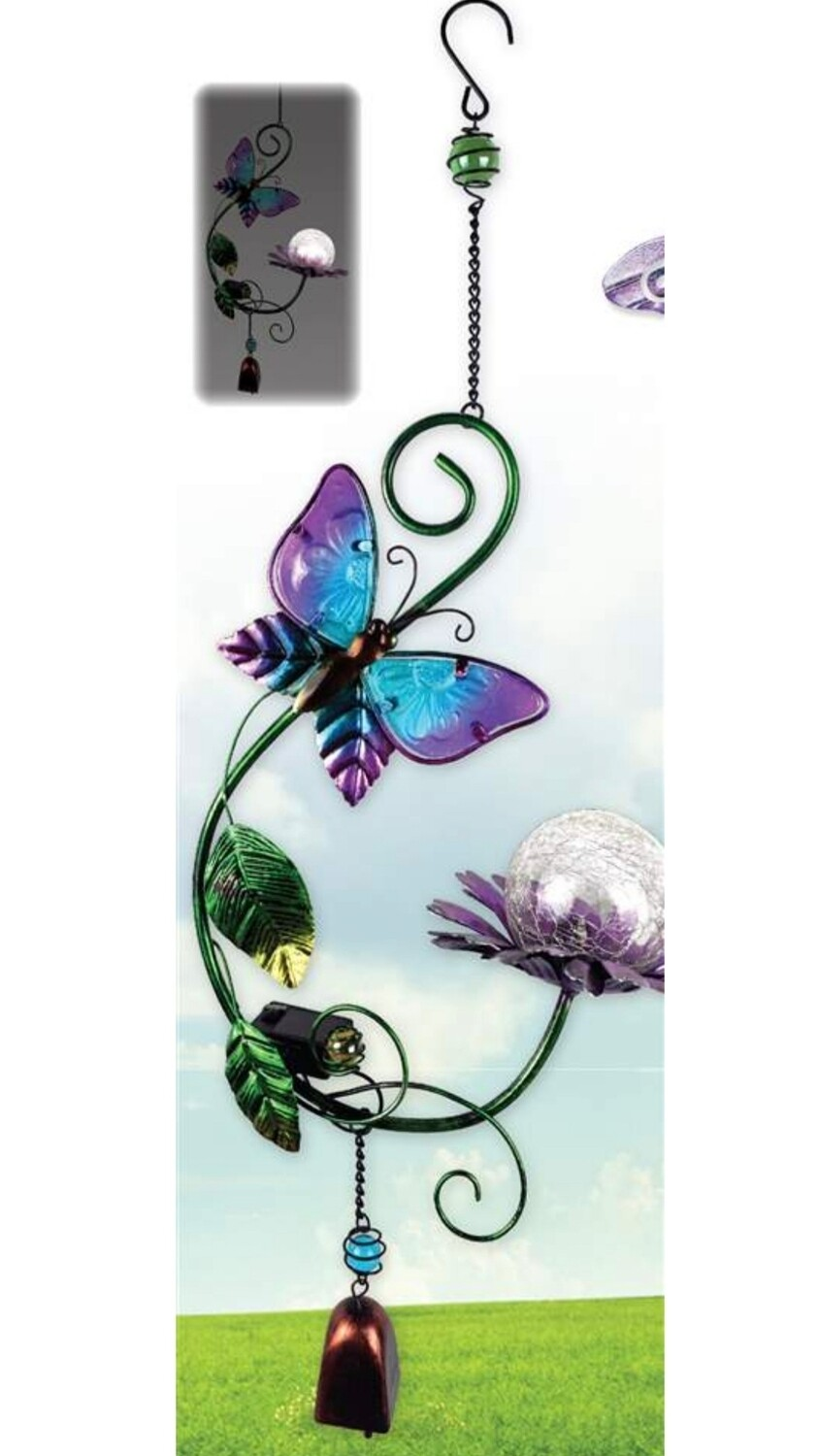 Butterfly Solar Hanging Buddy