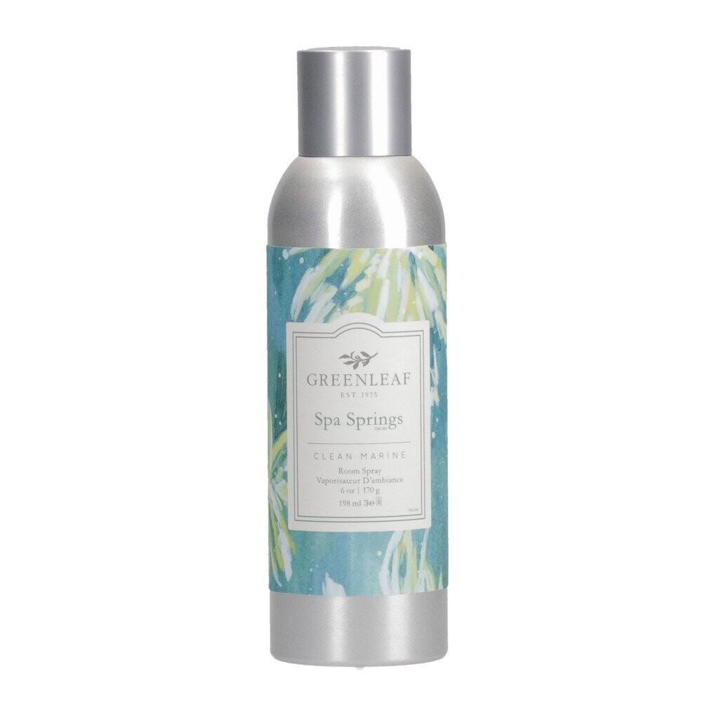 Greenleaf Room Spray | Spa Springs