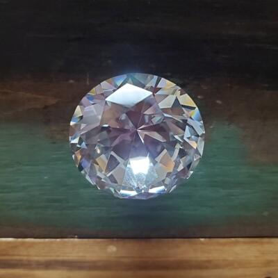 Flat Glass Prism Knob - Large