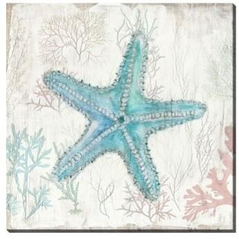 Canvas - Seaside Starfish