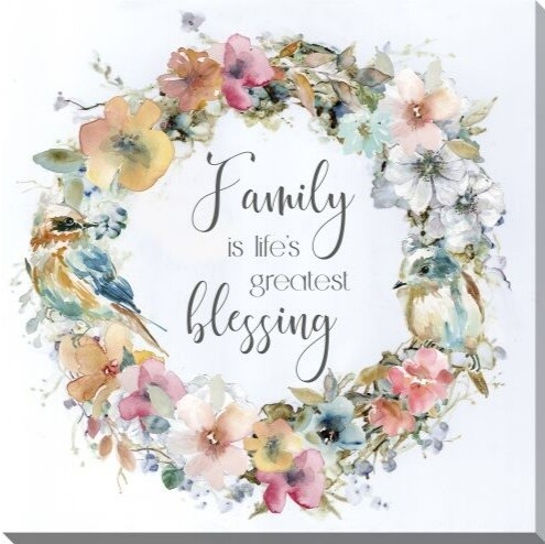 Canvas - Family Is Life's Greatest Blessing