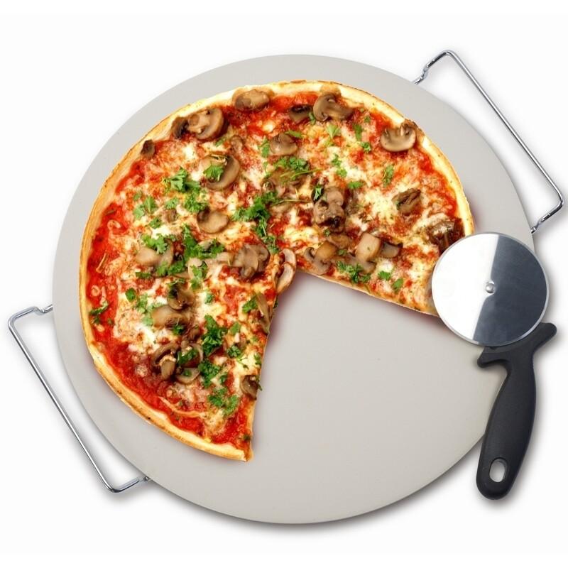Danesco Pizza Stone & Rack
