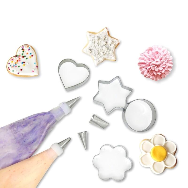 A La Tarte 12 Pc. Cookie Decorating Set