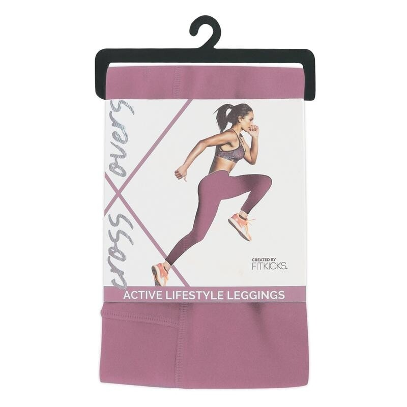 Fitkicks Crossover Leggings - Orchid