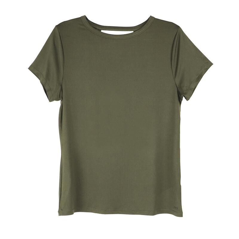 Fitkicks Crossover Active Lifestyle T-shirt - Olive