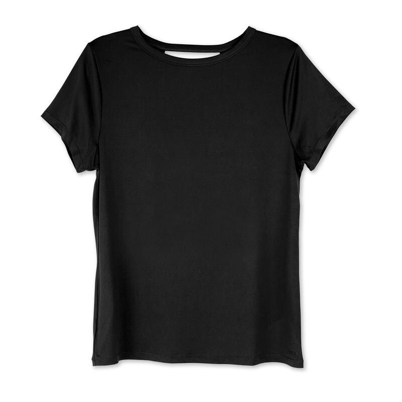 Fitkicks Crossover Active Lifestyle T-shirt - Black