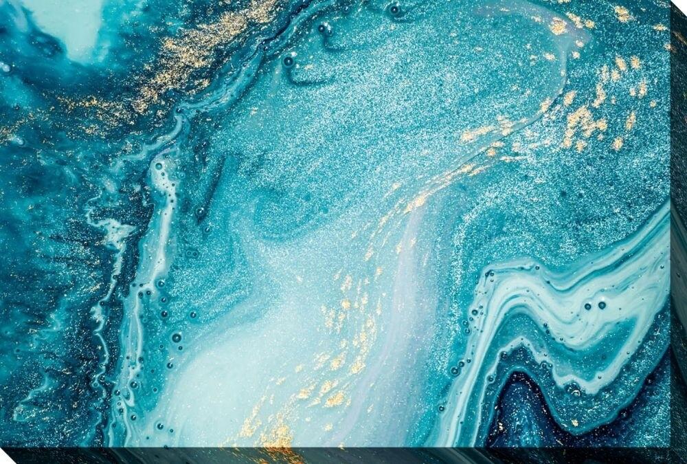 Canvas - Abstract Ocean
