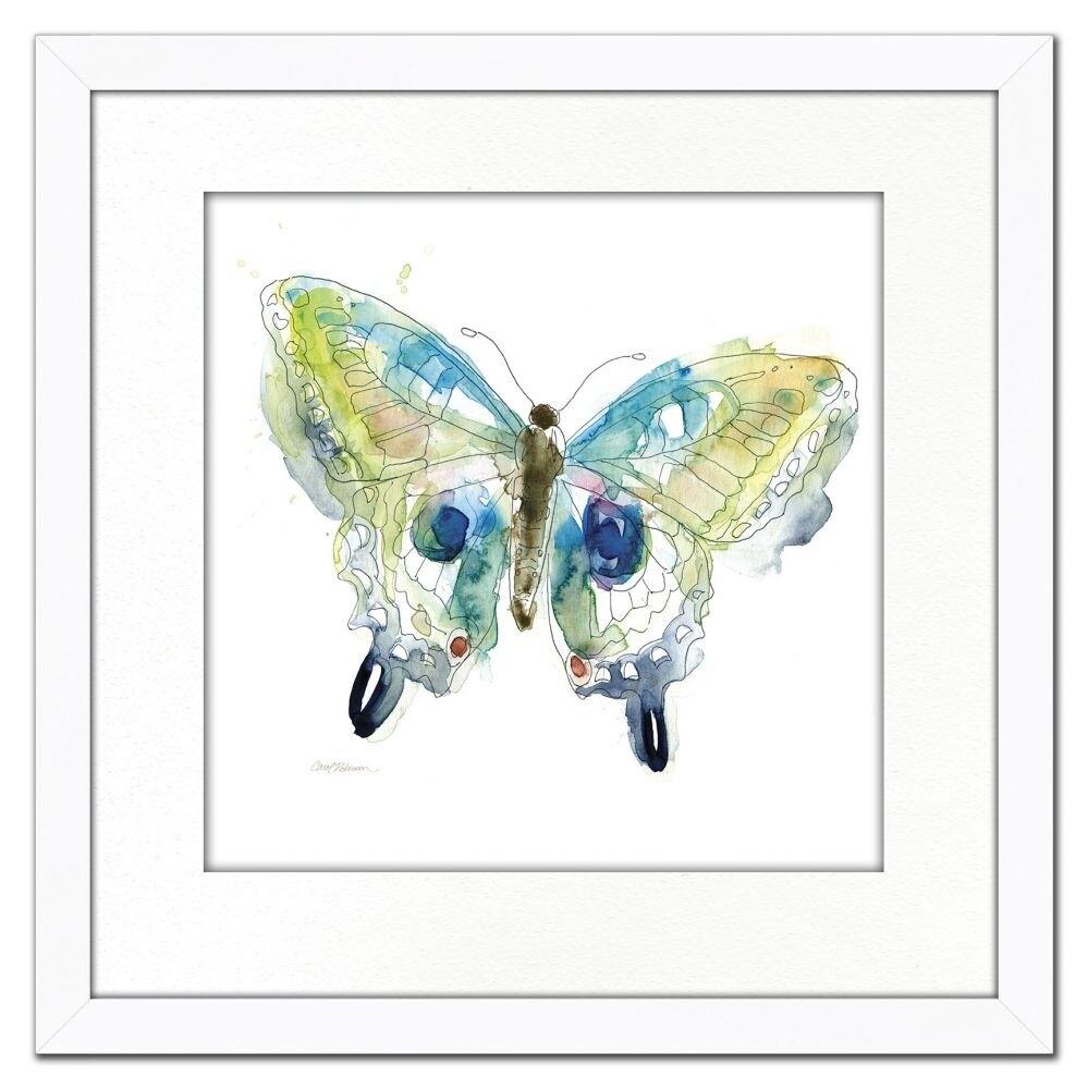 Framed Art - Sketchbook Butterfly