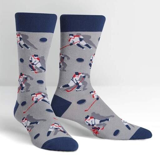Sock It To Me - Men's Crew Socks | The Mighty Pucks