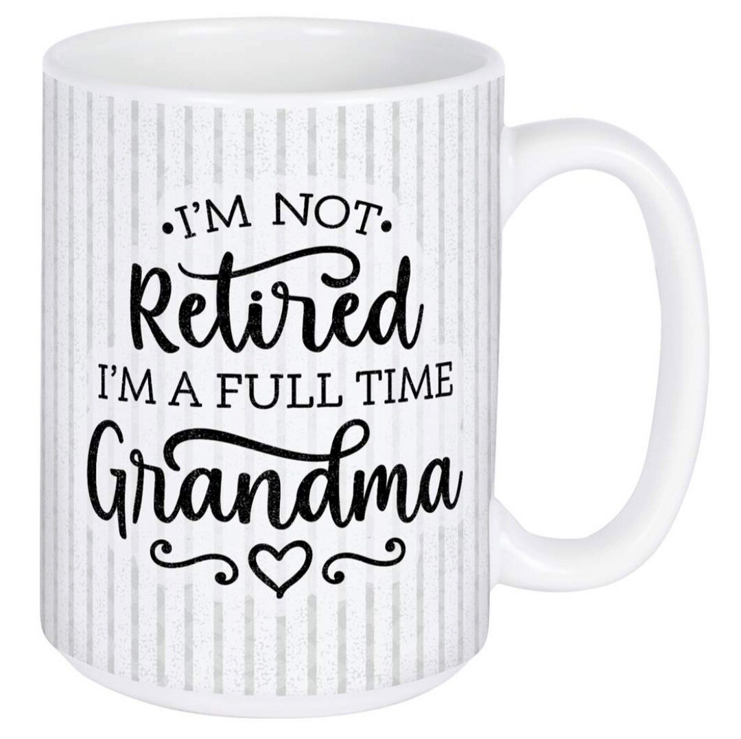 Carson Mug   Full Time Grandma