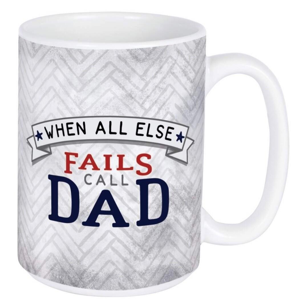 Carson Mug | When All Else Fails Call Dad