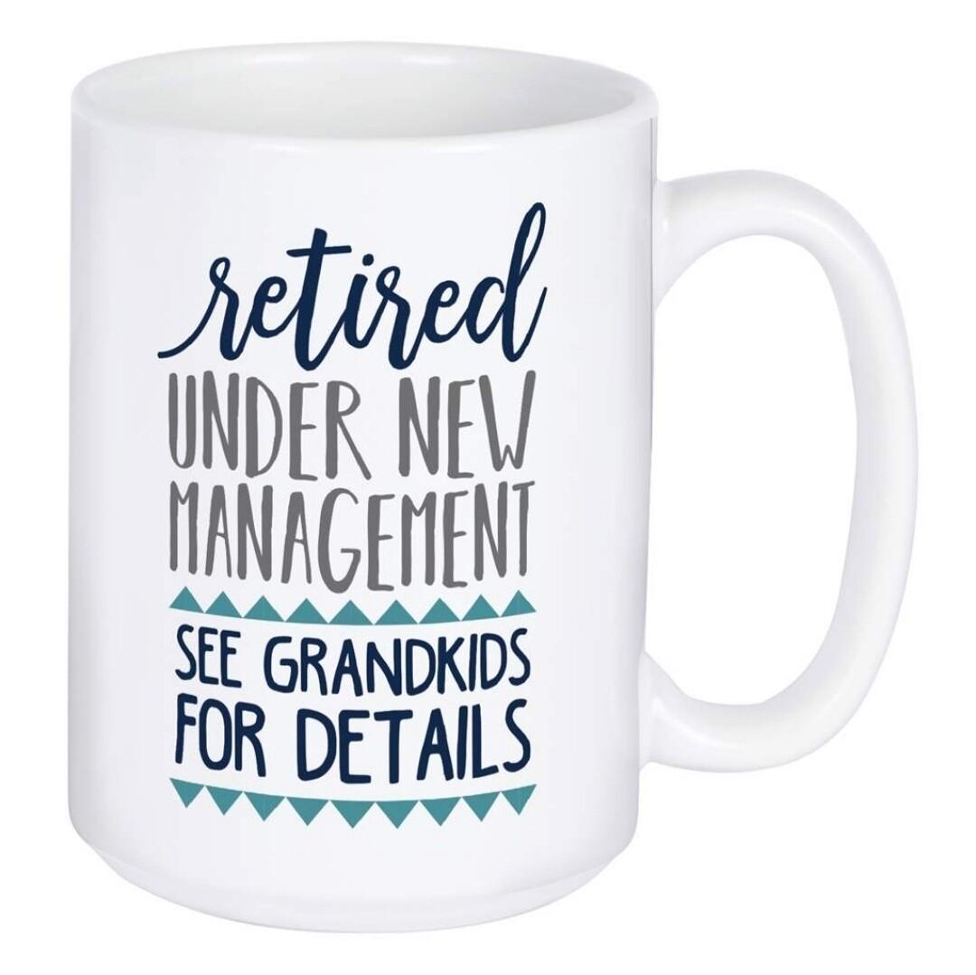 Carson Mug | Retired - Under New Management
